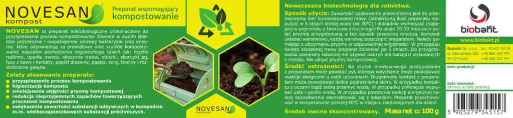 Etykieta Novesan
