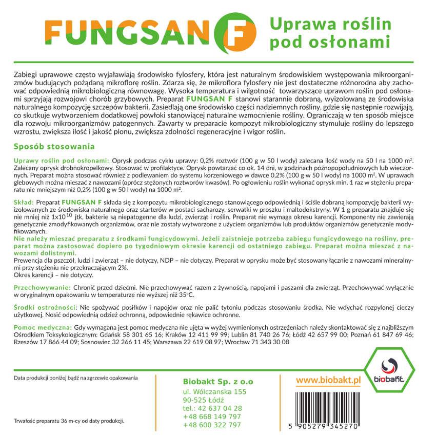 Etykieta Fungsan F
